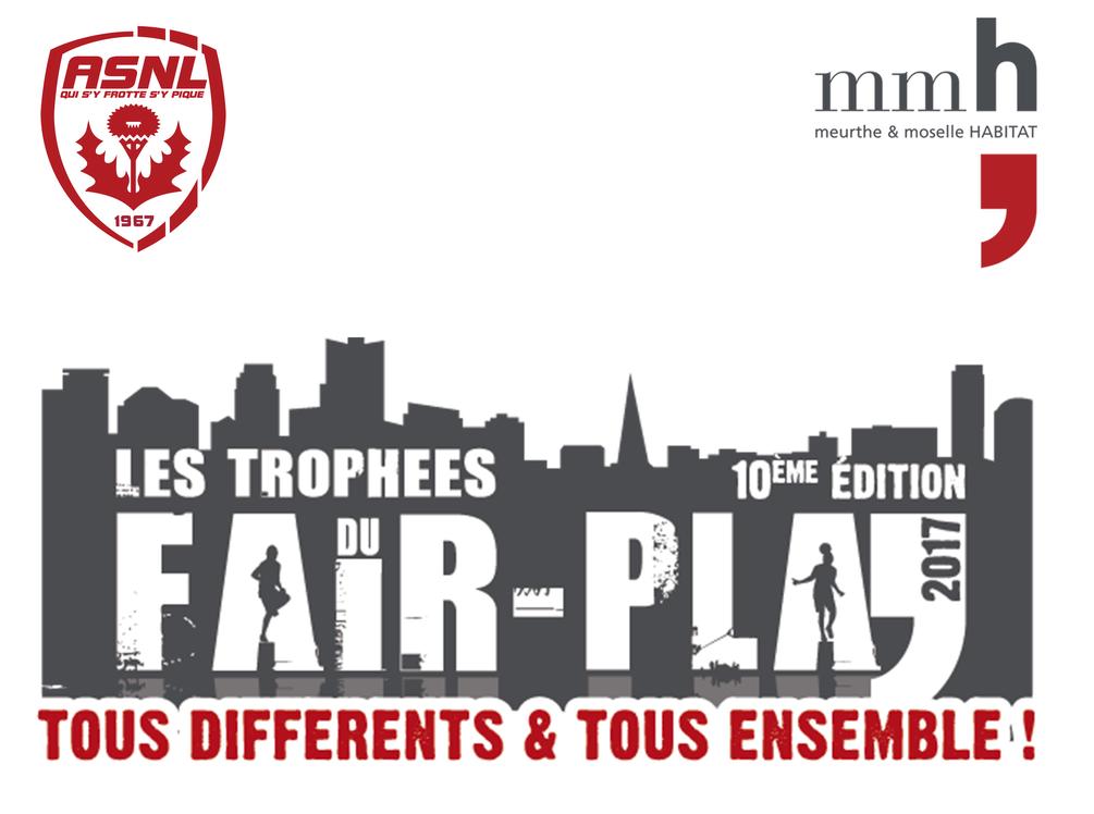Les trophées du fair-play 2017