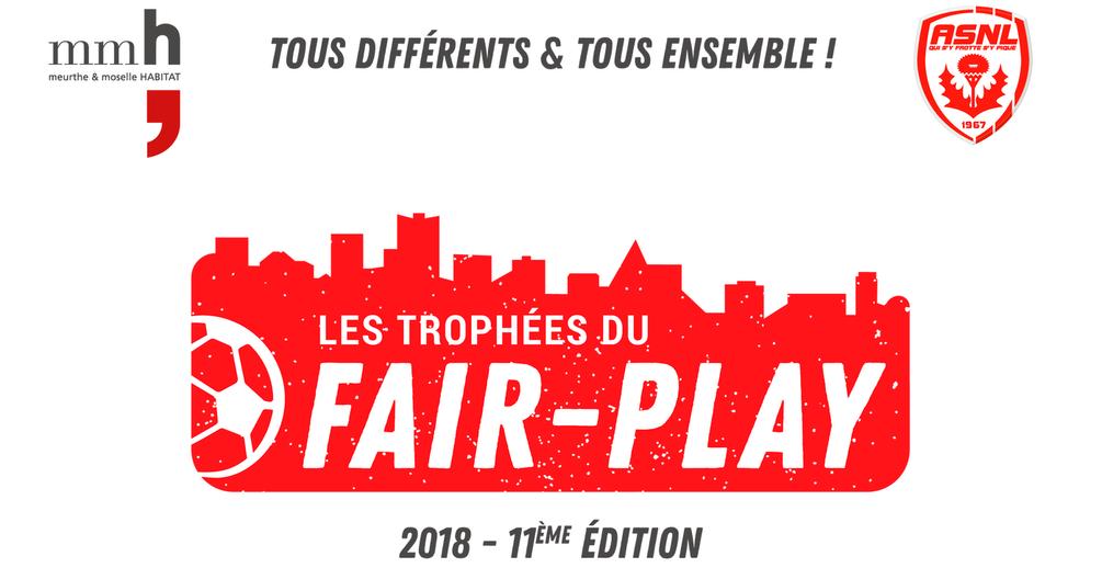 Les trophées du fair-play 2018