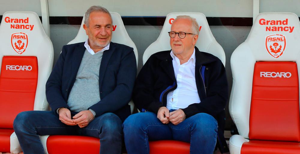Jean-Michel Roussier et Jacques Rousselot
