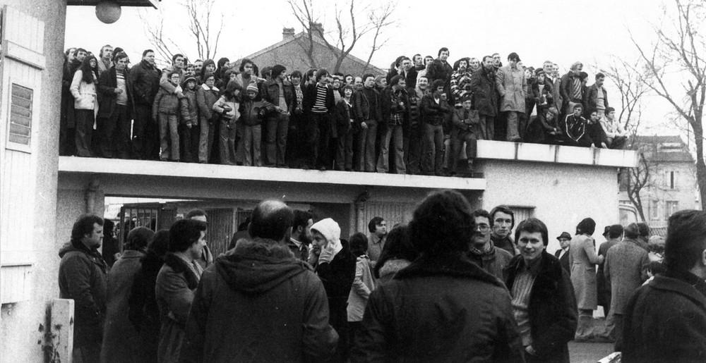 Nancy - St Etienne en 1976