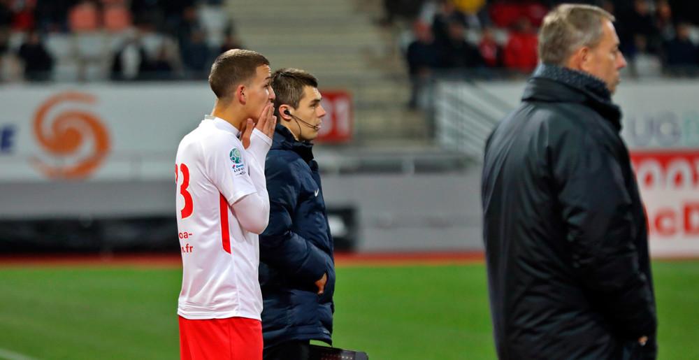Premier match pour Giovanni Haag