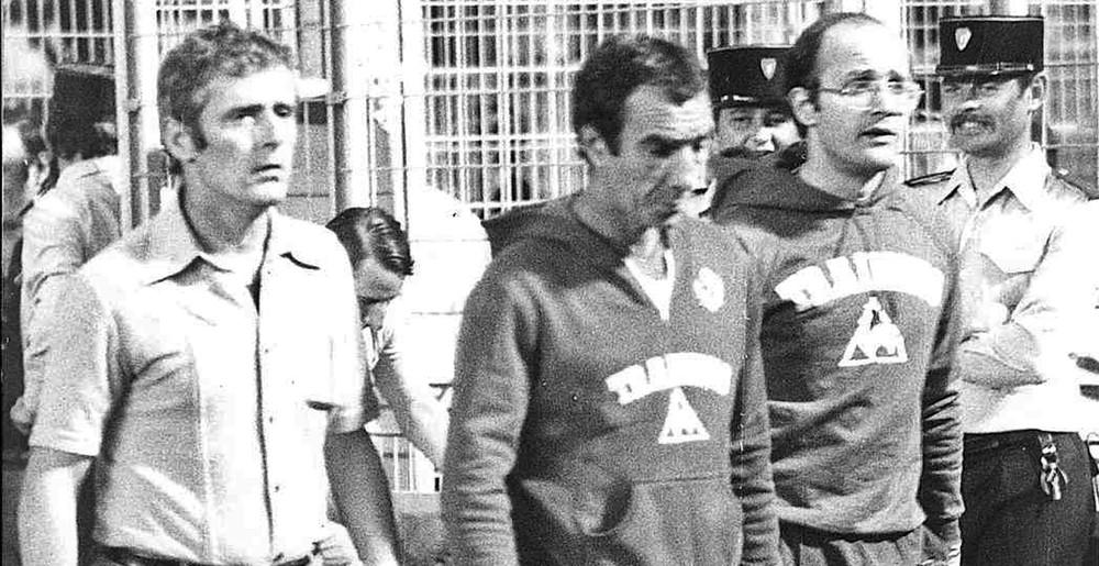 Aldo Platini, Antoine Redin et Bernard Bonnavia