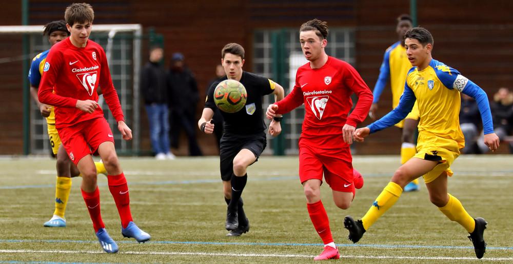 Les U18 de l'ASNL contre Drancy