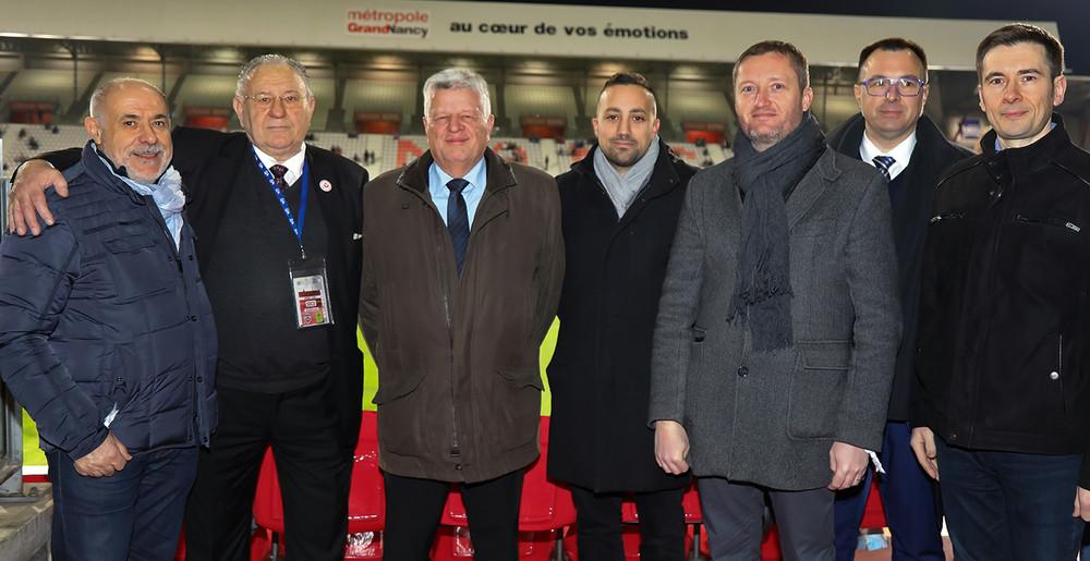 Bernard Valsaque honoré par la FFF