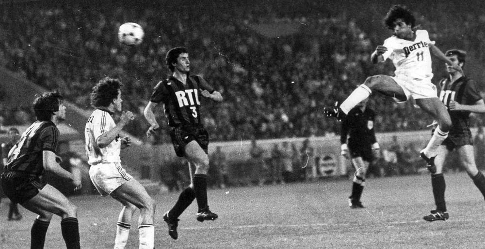 Fathi Chebel en finale de la Coupe de France 1978