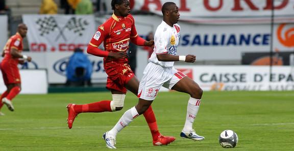 Samba Diakité en L1 contre Le Man