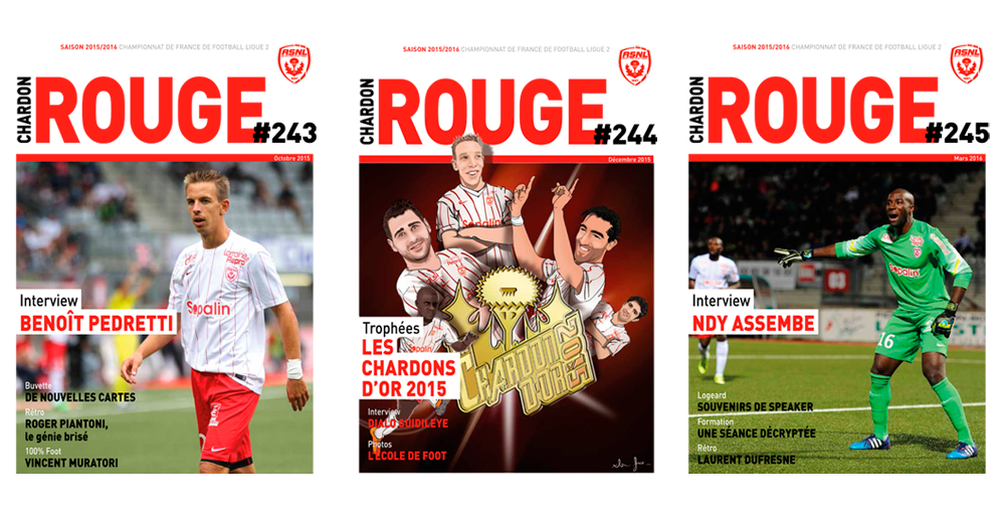 Magazine officiel Chardon Rouge