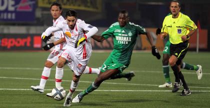 Youssouf Hadji à l'attaque