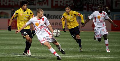 Jonathan Brison marqué par Kévin Anin