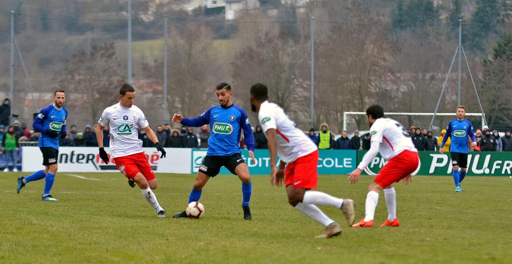 L'ASNL débute 2019 par une qualification sérieuse face au Puy (photo Sébastien Ricou).