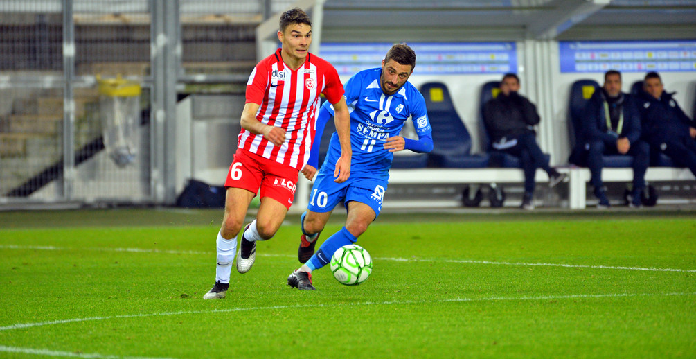 L'ASNL a fait jeu égal avec Grenoble et a obtenu une égalisation méritée en fin de match (photoJ. Diaféria / GF38).