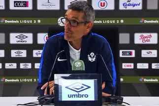 La réaction du coach après Guingamp-Nancy