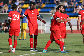 Les buts nancéiens d'Epinal-Nancy (0-3)