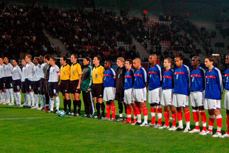 Le match de 2005 des Bleuets