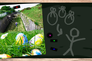 La chasse aux œufs à Fort Aventure