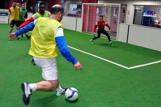 Une séance au Soccer City