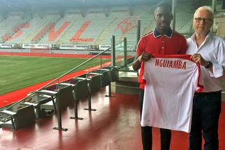 Premier contrat pro pour Nguiamba