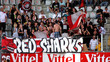Les Red Sharks déménagent