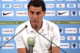 D. Tholot après Paris FC-Nancy