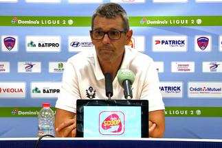 La réaction de JL Garcia après Clermont-Nancy
