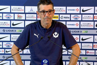 JL. Garcia après Paris FC-Nancy