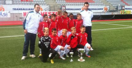 Les U11 champions du district !