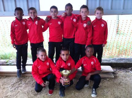Bon tournoi de nos jeunes U9 à Solgne