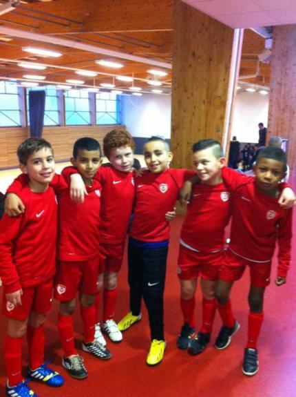 Les U9 en Futsal à Baccarat
