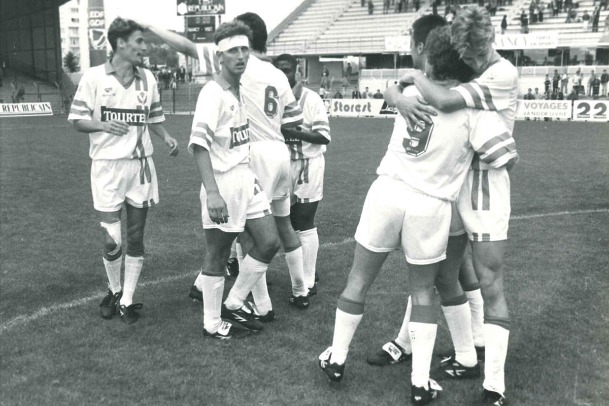 Nancy-Red Star en 1993 - Photo n°17