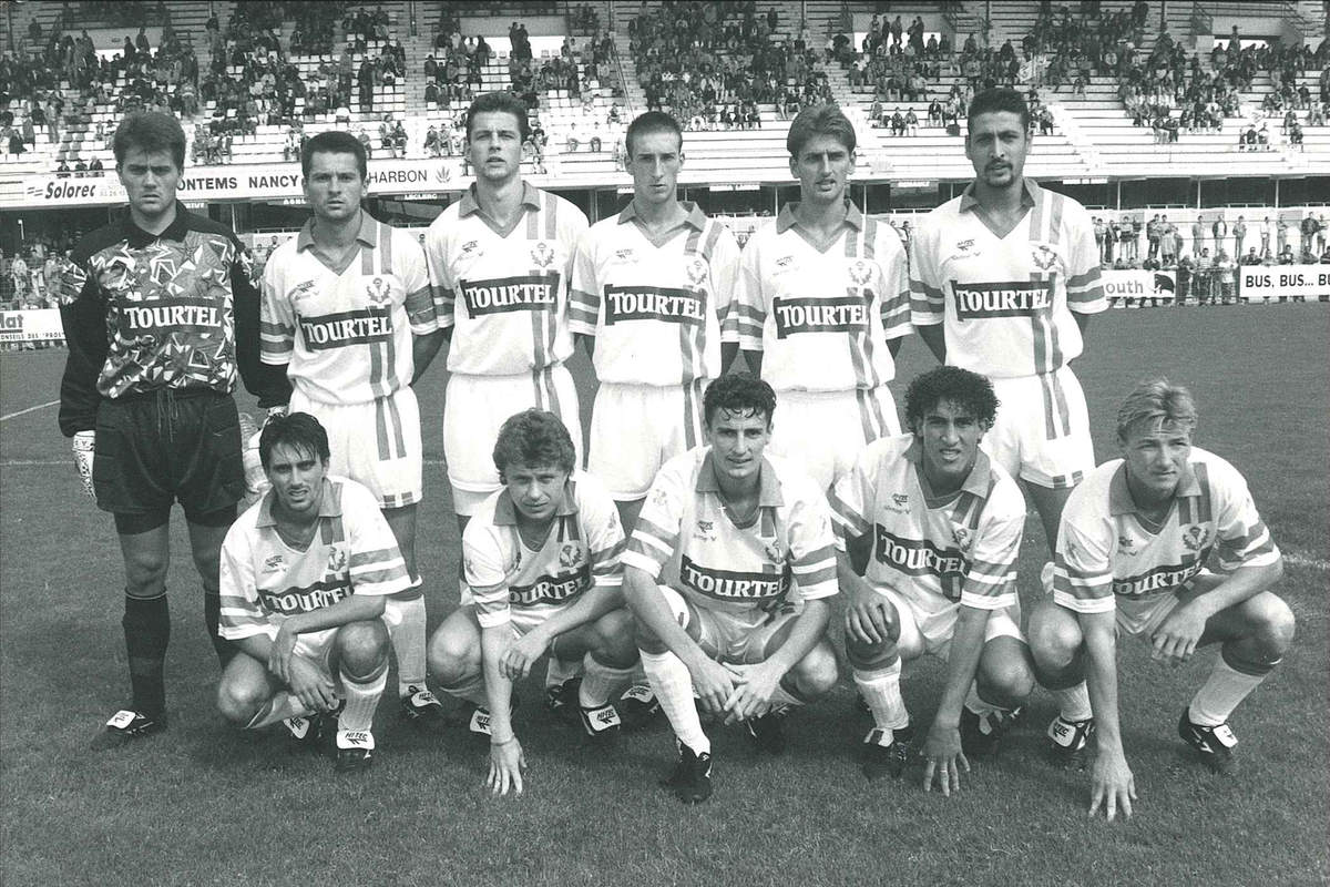 Nancy-Red Star en 1993 - Photo n°1