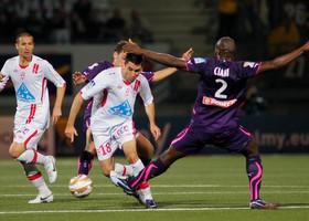 Face à Bordeaux en coupe de la Ligue