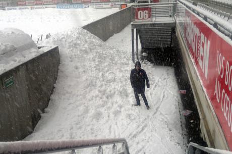 Picot sous la neige