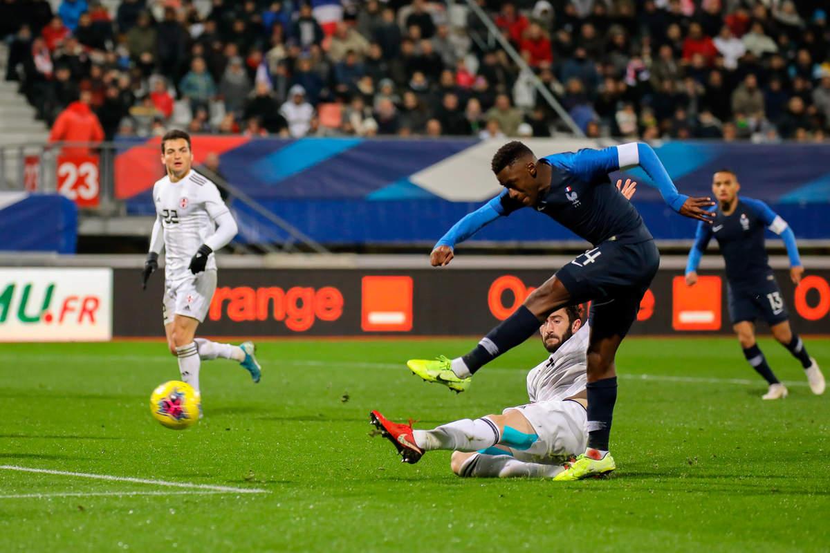 France-Géorgie espoirs - Photo n°10