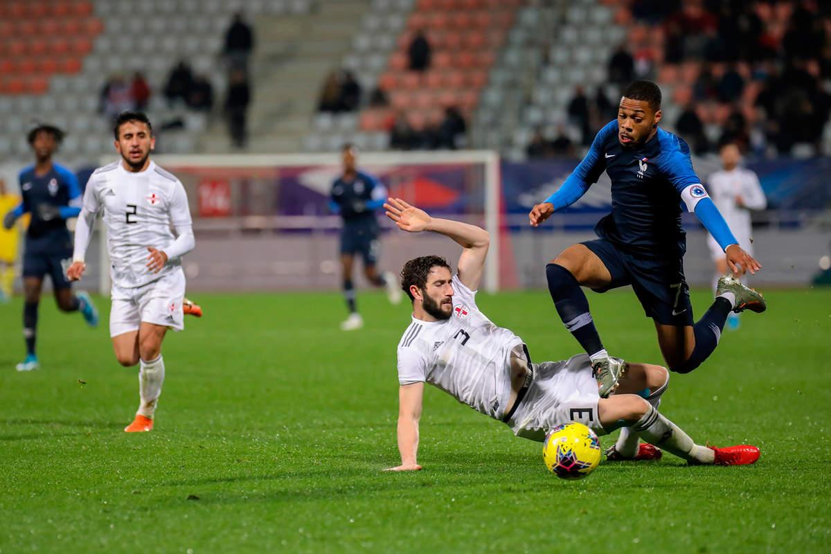 France-Géorgie espoirs - Photo n°16