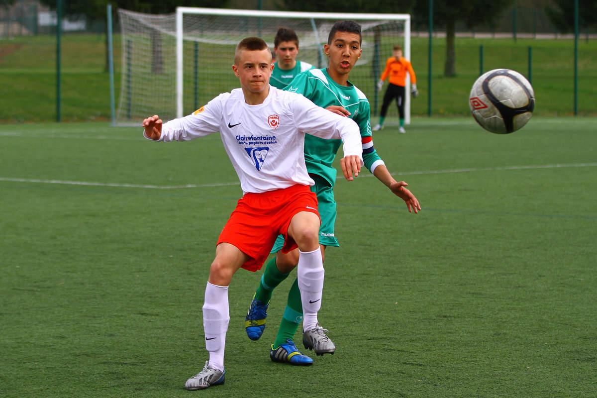 ASNL/Amnéville en U15 - Photo n°13