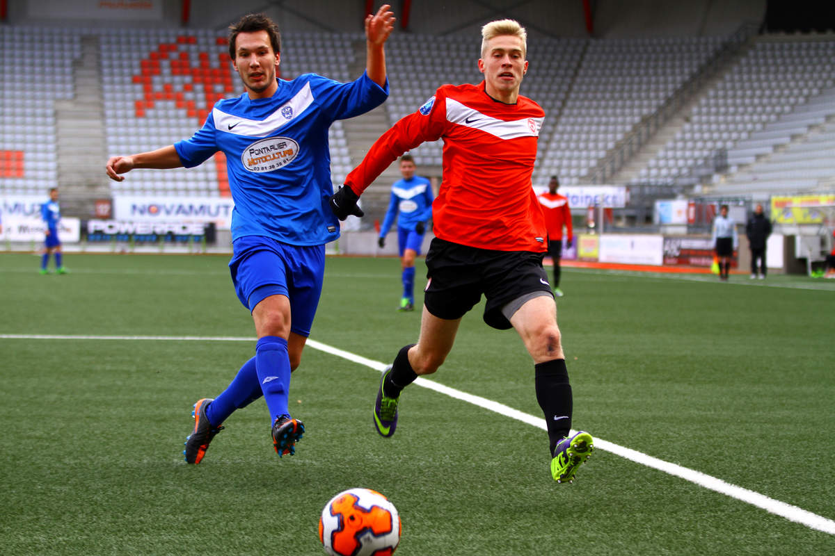 ASNL/Pontarlier en U19 - Photo n°1