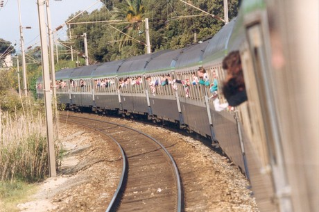 Le train de Cannes en 1992