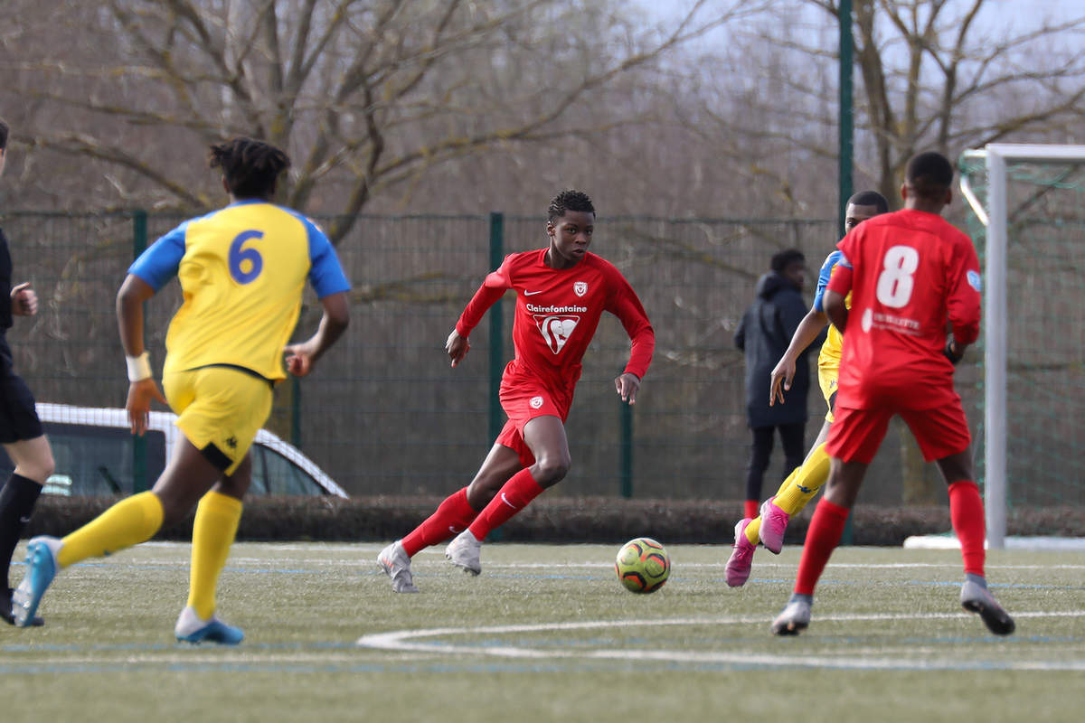 Nancy-Drancy en U17 - Photo n°1