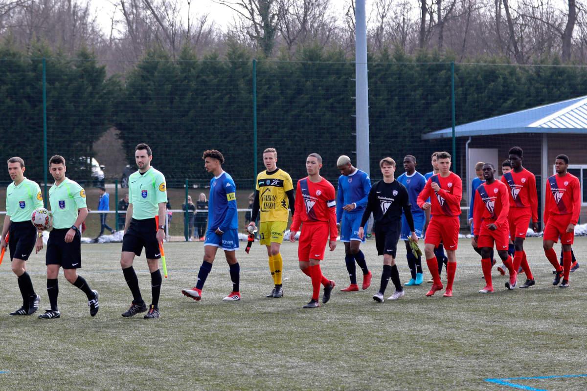 Nancy/Troyes en U19 - Photo n°0