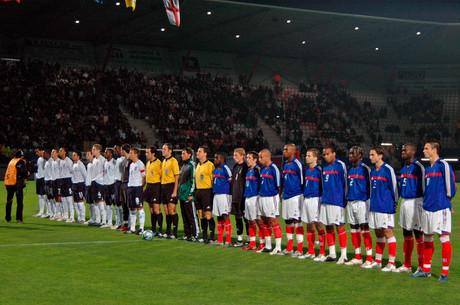 France Espoirs en 2005