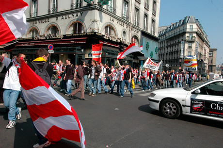 Vers le Stade de France 2006