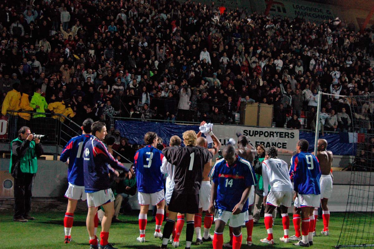 France Espoirs en 2005 - Photo n°12