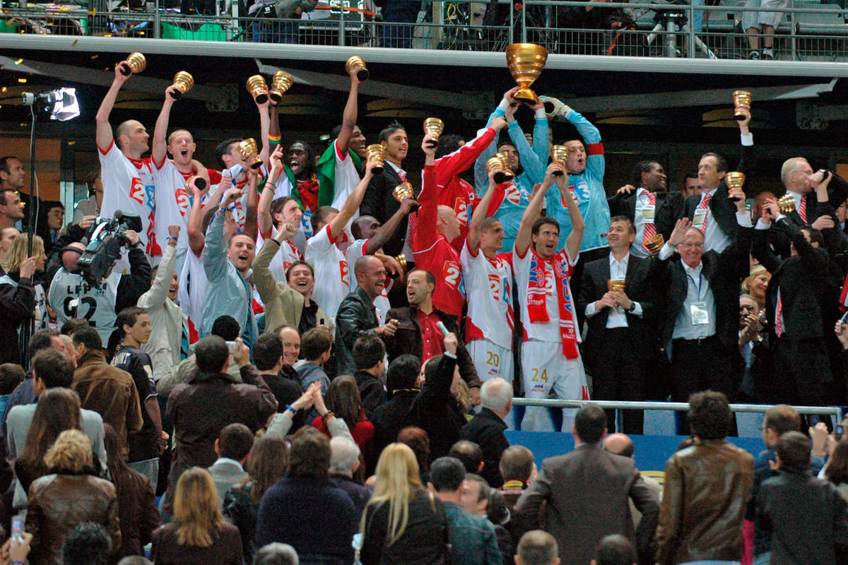 Finale de la coupe de la Ligue 2006 - Photo n°30