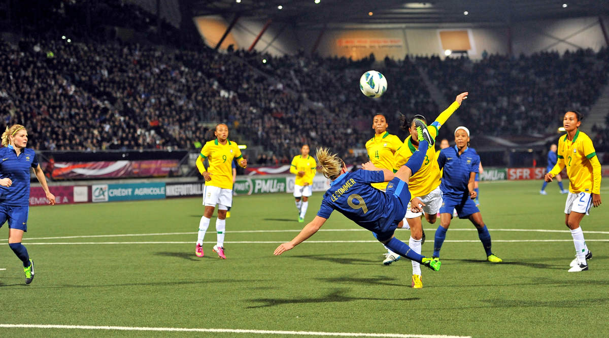 France-Brésil (F) - Photo n°12