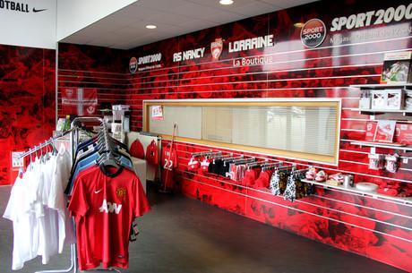 Nike à la boutique