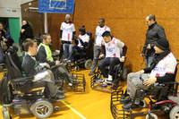 Du foot fauteuil pour le Téléthon - Photo n°0