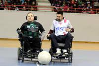 Du foot fauteuil pour le Téléthon - Photo n°1