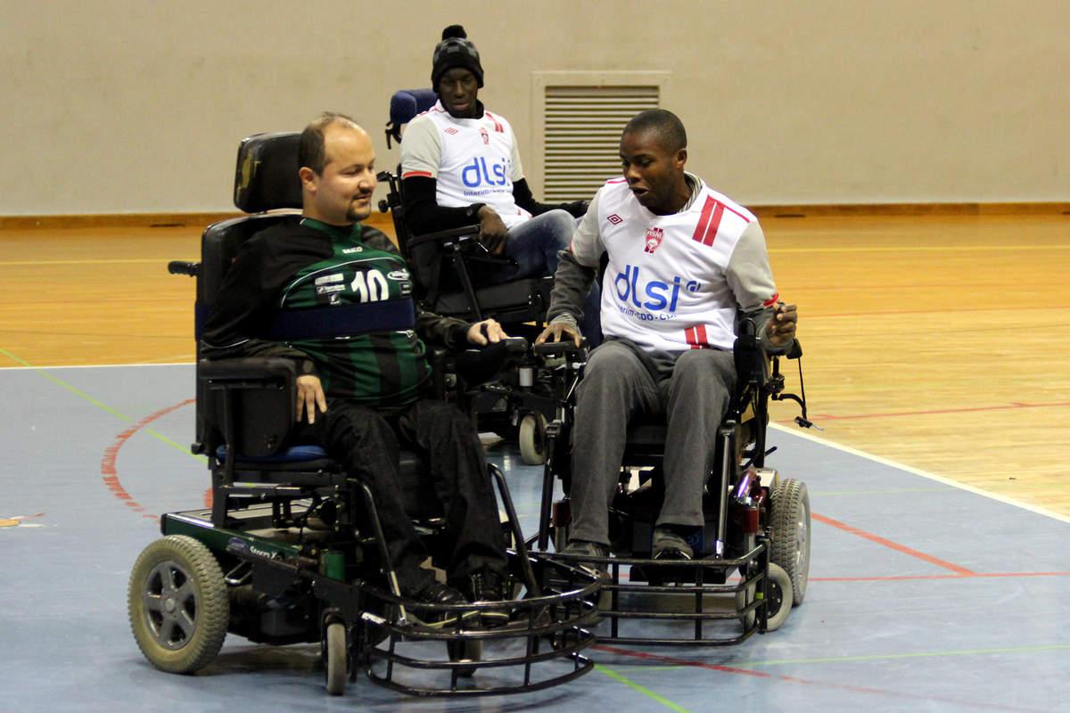 Du foot fauteuil pour le Téléthon - Photo n°4