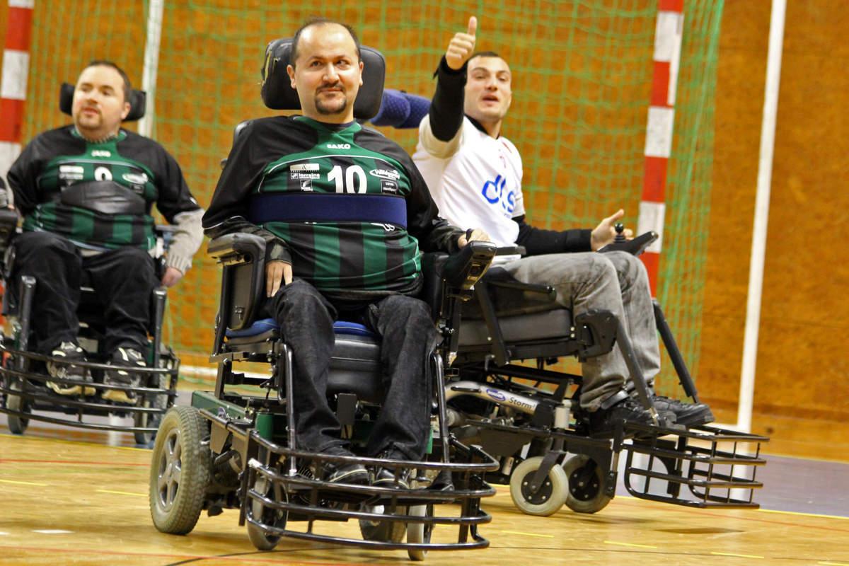 Du foot fauteuil pour le Téléthon - Photo n°15