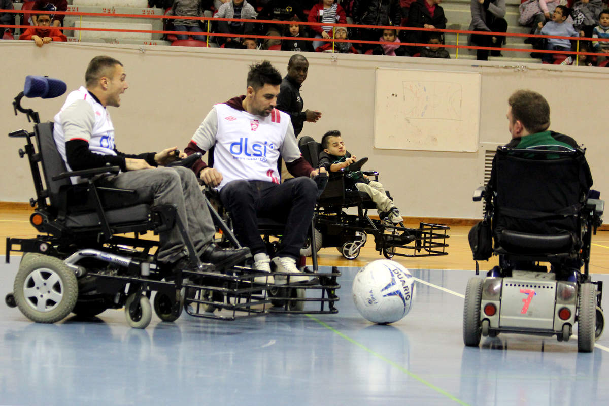Du foot fauteuil pour le Téléthon - Photo n°18